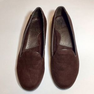 BASS Women's Brown Suede Loafers NWOT  Sz 6M